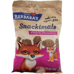 Barbara's Snackimals Double Chocolate Cookies 60g