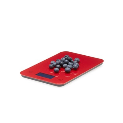 Veggie Meals - Accura Aquarius 2 Electronic Kitchen Scale & Timer 5kg/1gm/Ml-RED