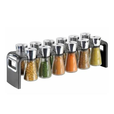 Veggie Meals - Cole & Mason 12 Jar Herb and Spice Rack