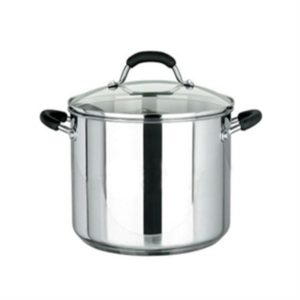 Veggie Meals - Raco Contemporary Stainless Steel Stockpots 26cm 9.5L