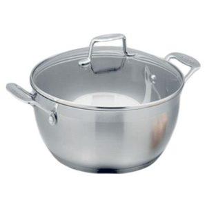 Veggie Meals - Scanpan Impact 32cm Stew Pot with glass lid-8.5l