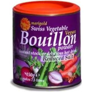 Marigold Swiss Vegan Bouillon -L/SaltYeastFree GlutenFree (Purple)150g