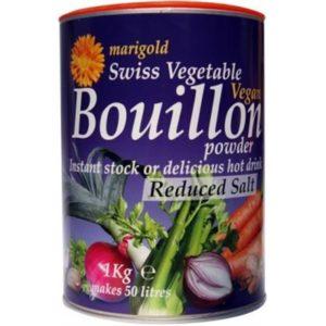 Marigold Swiss Vegan Bouillon L/ SaltYeastFree GlutenFree (Purple)1kg