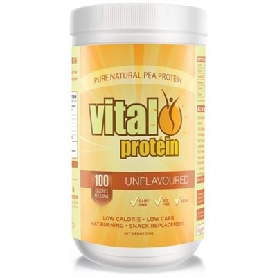 Vital Protein Pea Protein Isolate Natural Pwdr 500g