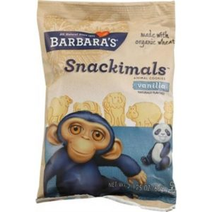 Barbara's Snackimals Vanilla Cookies 60g