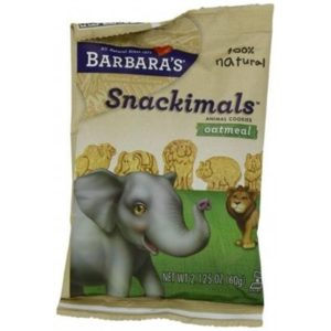 Barbara's Snackimals Oatmeal-Wheatfree Cookies 60g