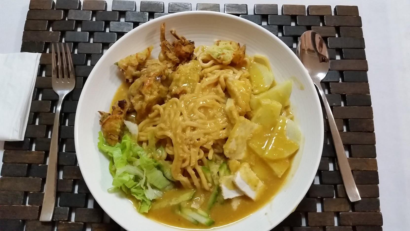 Vegetarian Mee Rebus