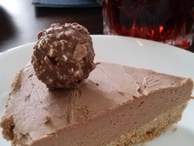 Ferrero Rocher Nutella Cheesecake