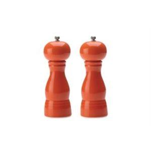 Veggie Meals - Maxwell & Williams Colour Basics Salt & Pepper Mill Set 17cm Orange