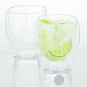 Veggie Meals - Bodum Pavina Double Wall Glasses Medium 250ml Set Of 2