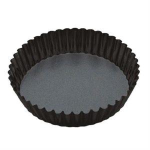 Veggie Meals - Mastercraft Non Stick Loose Base Extra Deep Flan/Quiche Tin D25x5.5cm