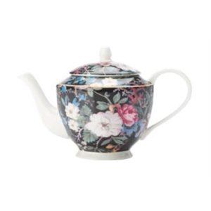 Veggie Meals - Maxwell & Williams William Kilburn Teapot 500ML Midnight Blossom