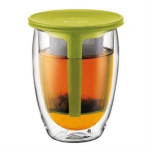 Veggie Meals - Bodum TEA FOR ONE Glass