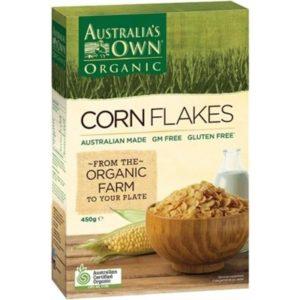 Australia's Own Organic Cornflakes 450gm