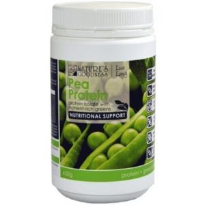 Natures Goodness Pea Protein w/Nutrient Rich Greens Powder 450g