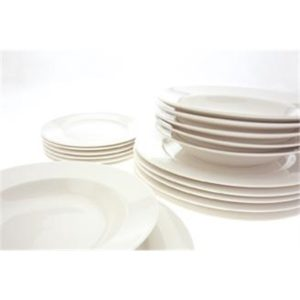 Veggie Meals - Maxwell & Williams White Basics York Dinner Set 18 piece