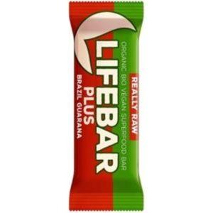 Lifebar Organic Plus Brazil Guarana G/F 15x47g