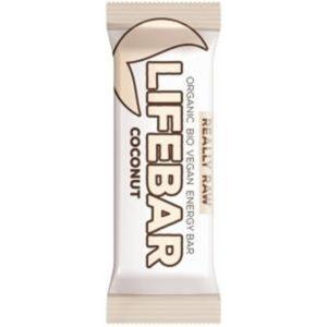 Lifebar Organic Energy Coconut G/F 15x47g