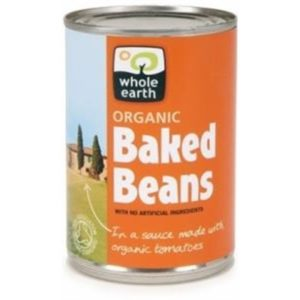 Whole Earth Organic Baked Beans G/F 400gm