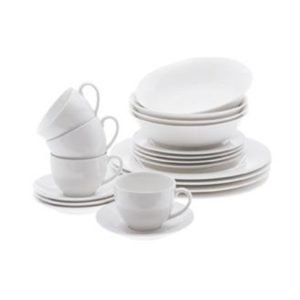 Veggie Meals - Maxwell & Williams White Basics European Dinner Set 20pc