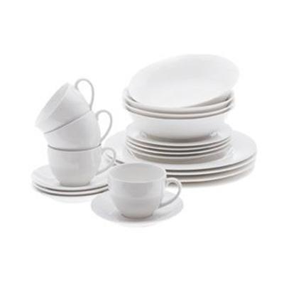 Veggie Meals - Maxwell & Williams White Basics European Dinner Set 20pc