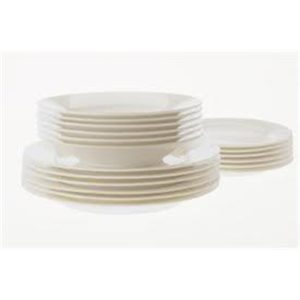 Veggie Meals - Maxwell & Williams Cashmere Rim 18 piece setting for 6 (no cups/mugs)