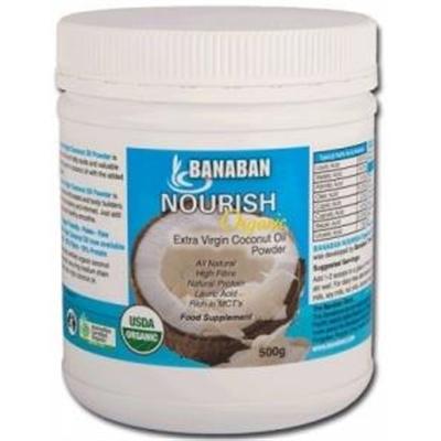 Banaban Organic Nourish Extra Virgin Coconut Oil Powder 500g