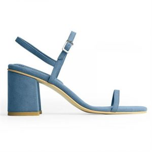 Veggie Meals - Azur Vegan Suede Simple Sandal - US 6