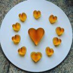 Vegan Heart Shaped Jelly – Green Tea Flavor
