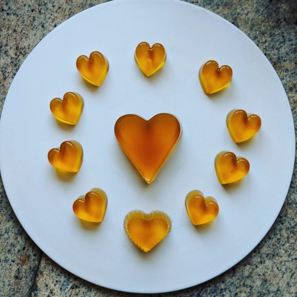 Veggie Meals - Vegan Jelly Hearts