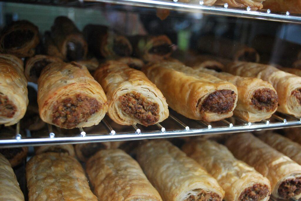 Veggie Meals - Sydney Vegan Markets Sausage Rolls