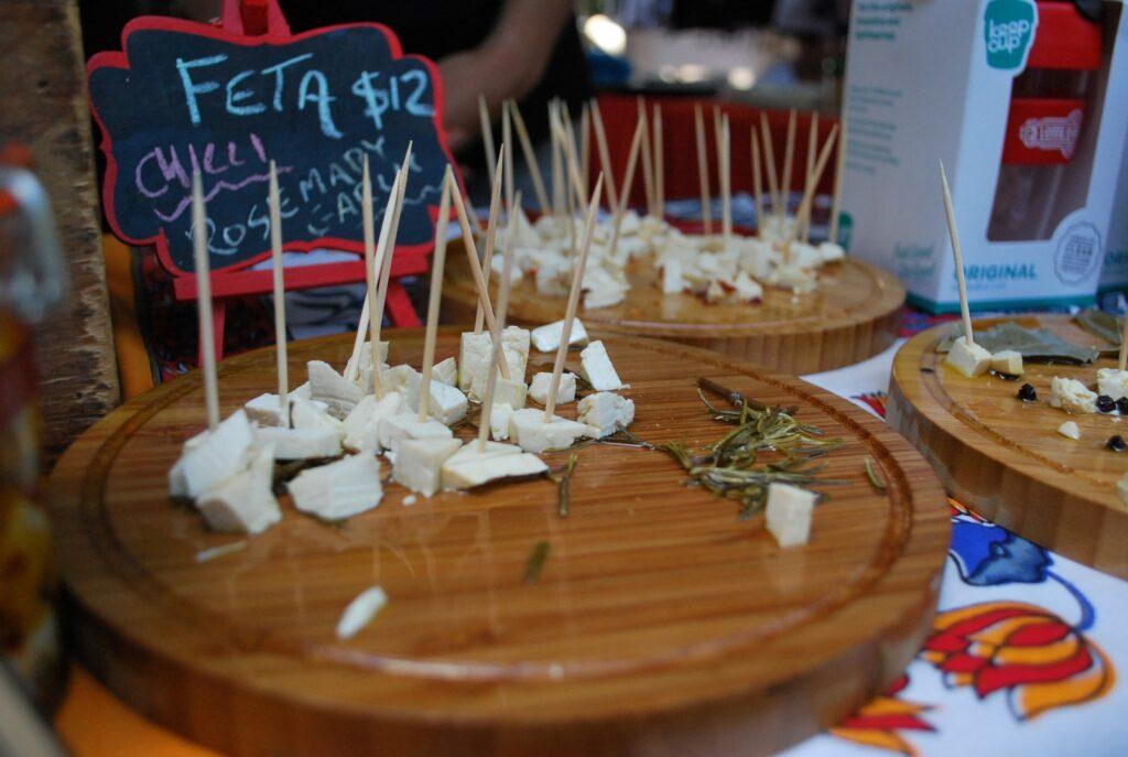 Veggie Meals - Sydney Vegan Markets Tofu Fetta