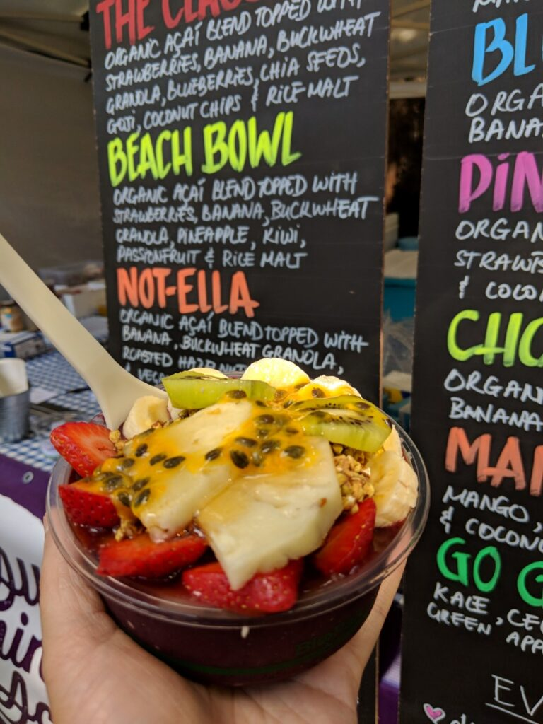 Veggie Meals - Sydney Vegan Markets Vegan Acai Beach Bowl