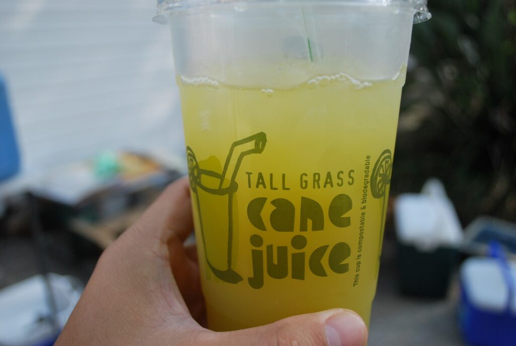 Veggie Meals - Sydney Vegan Markets Vegan Tall Grass Juice
