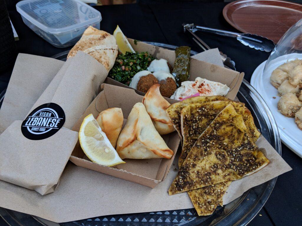 Veggie Meals - Sydney Vegan market Vegan Lebanese Street Food