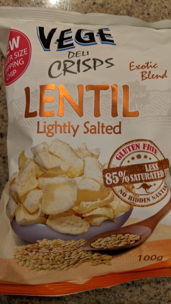 Veggie Meals - Vege Deli Crisps Lentil chips