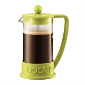 Veggie Meals - Bodum Brazil French Press Coffee Maker 8 Cup 1.0 Litre Lime Green