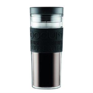 Veggie Meals - Bodum Plastic Travel Mug 350ml Black