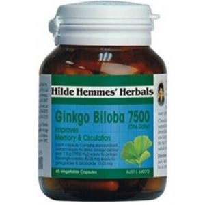Hilde Hemmes Ginkgo Biloba 7500mg x 45caps