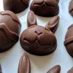 Vegan Chocolate Egg and Bunny