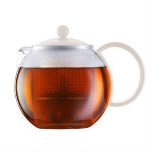 Veggie Meals - Bodum Assam Teapot 1.0l White