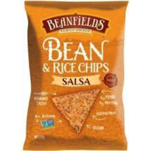 Beanfields Salsa Bean & Rice Chips G/F 130g