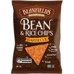 Beanfields BBQ Bean & Rice Chips G/F 130g