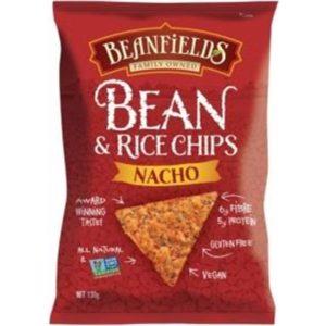 Beanfields Nachos Bean & Rice Chips G/F 130g