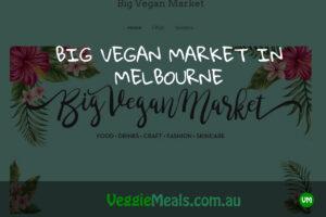 Veggie Meals Big Vegan Market