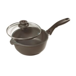 Veggie Meals - Swiss Diamond 16 x 8 cm Saucepan With Lid 1.3 litre