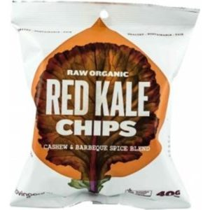 Loving Earth Raw Organic Red Kale Chips 8x40g