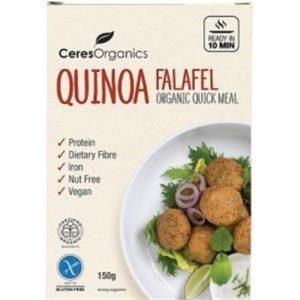 Ceres Organics Bio Quinoa Falafel Quick Meal G/F 150g