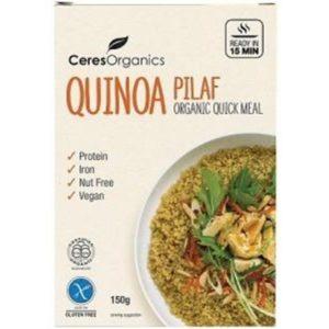 Ceres Organics Bio Quinoa Pilaf Quick Meal G/F 150g