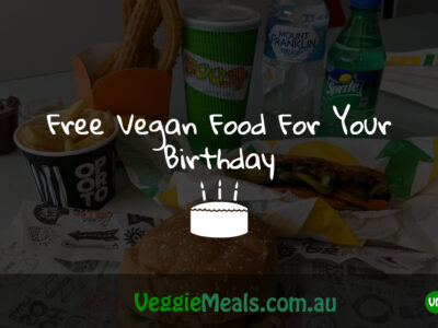 FREE VEGAN FOOD FOR YOUR BIRTHDAY